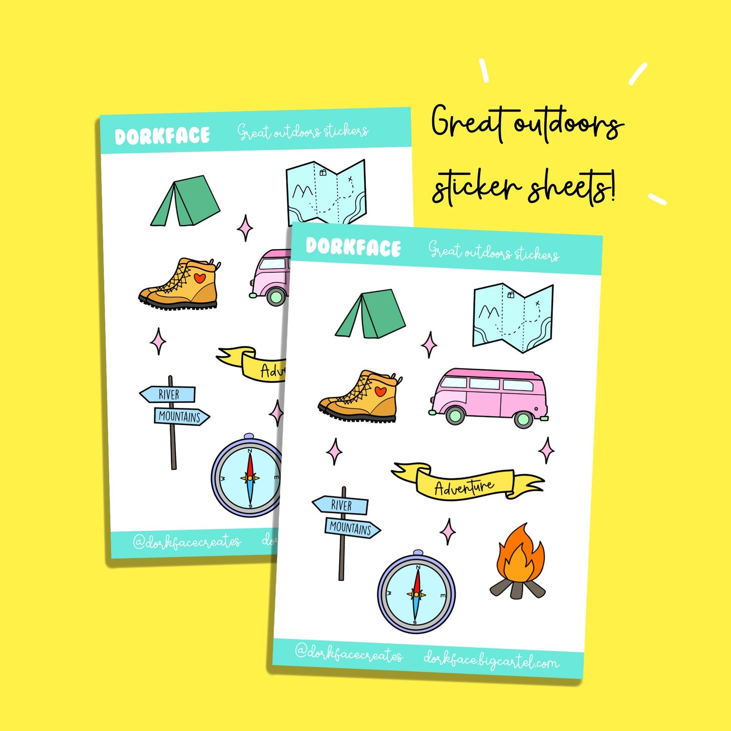 Great Outdoors Stickers
