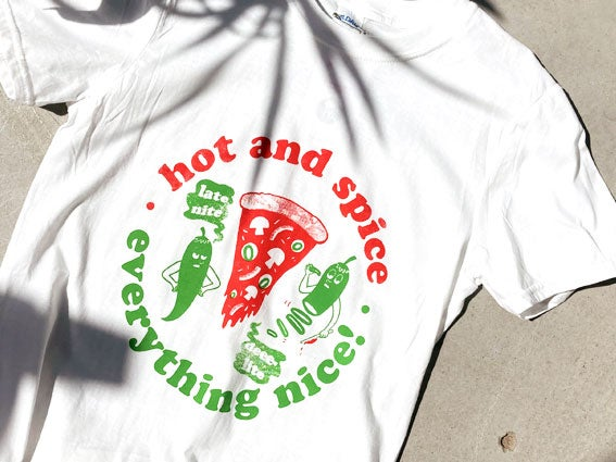 Image of T-Shirt Hot and spice - Everything nice!