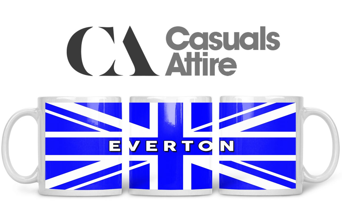 Everton, Football, Casuals, Ultras, Fully Wrapped Mug. Unofficial.