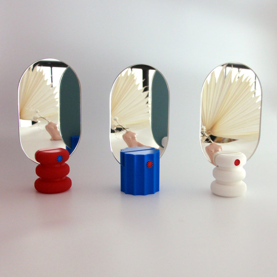 Image of UAU Project MIRRR 3D printing mirrors