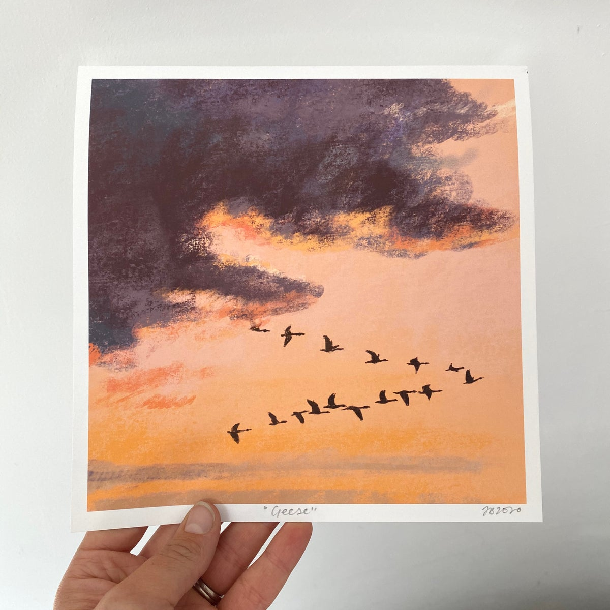 Image of 'Geese' archive quality print