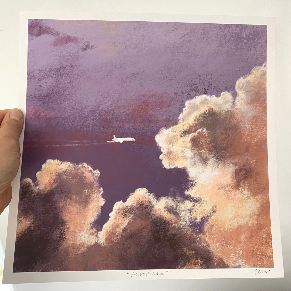 Image of 'Aeroplane' archive quality print