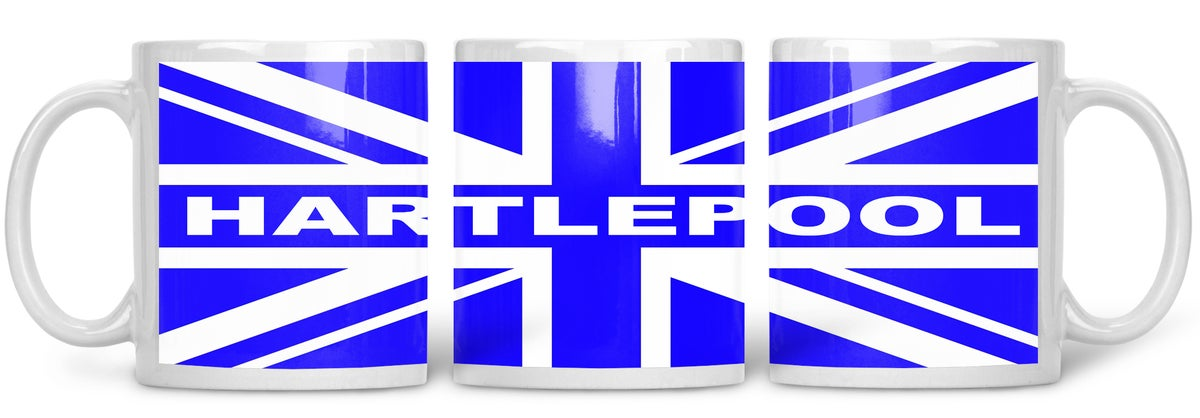 Hartlepool , Football, Casuals, Ultras, Fully Wrapped Mug. Unofficial.
