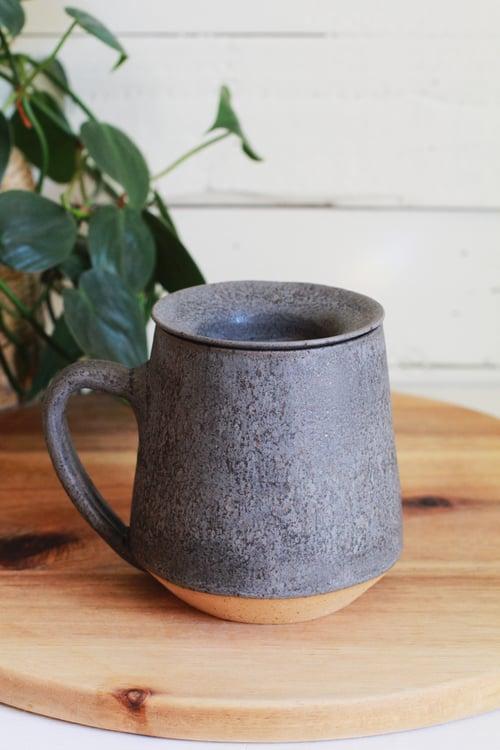 Image of Matte Charcoal Mug & Tea Infuser Set
