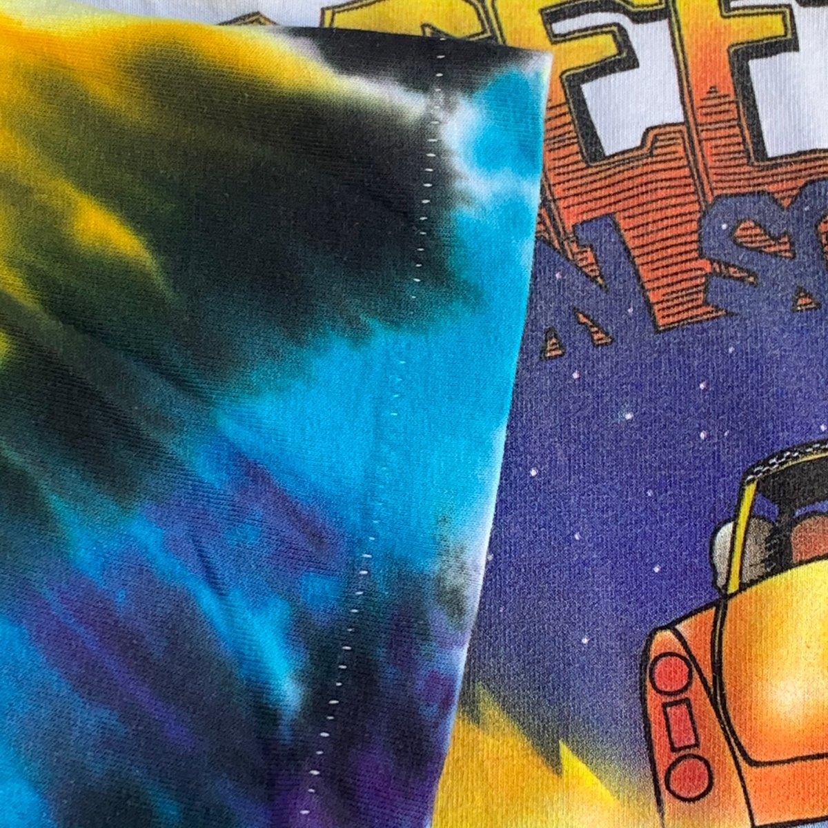 Original Vintage 1990 Grateful Dead Madison Square Garden Dye - X-Large