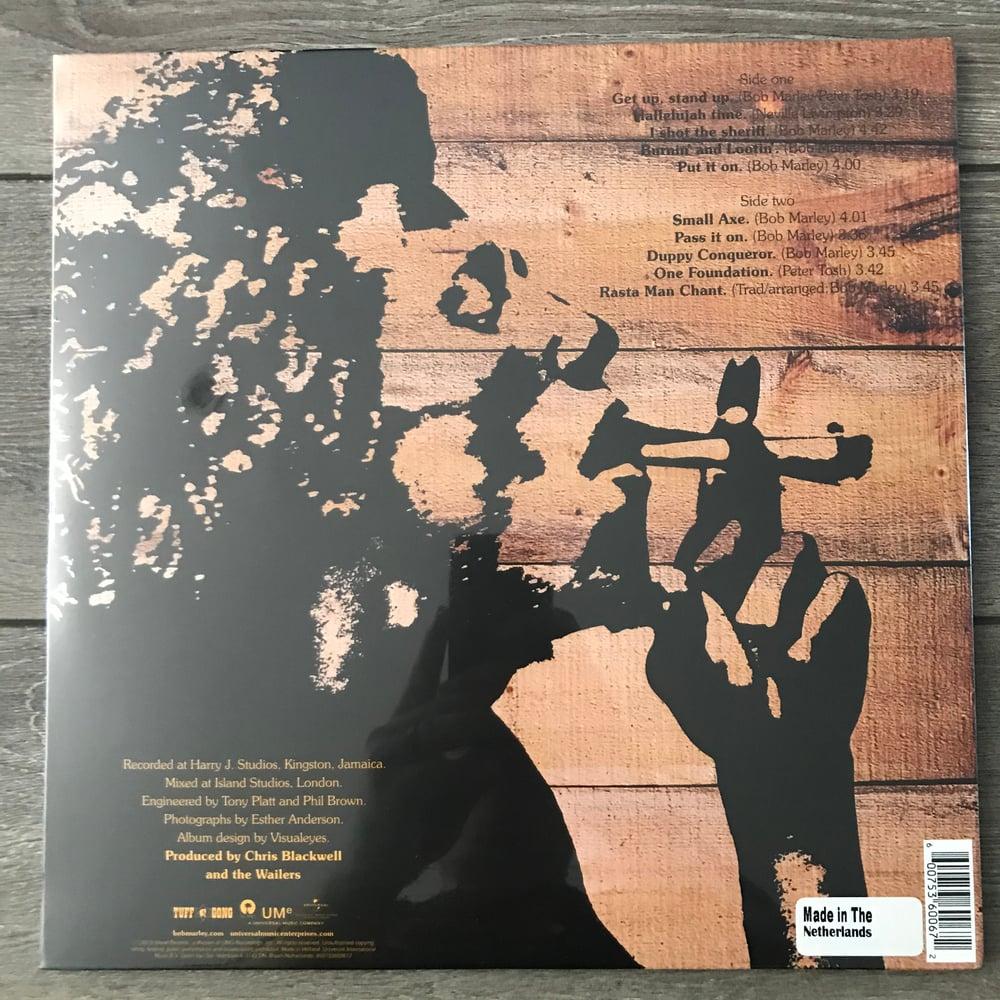 Image of Bob Marley And The Wailers - Burnin' Vinyl LP