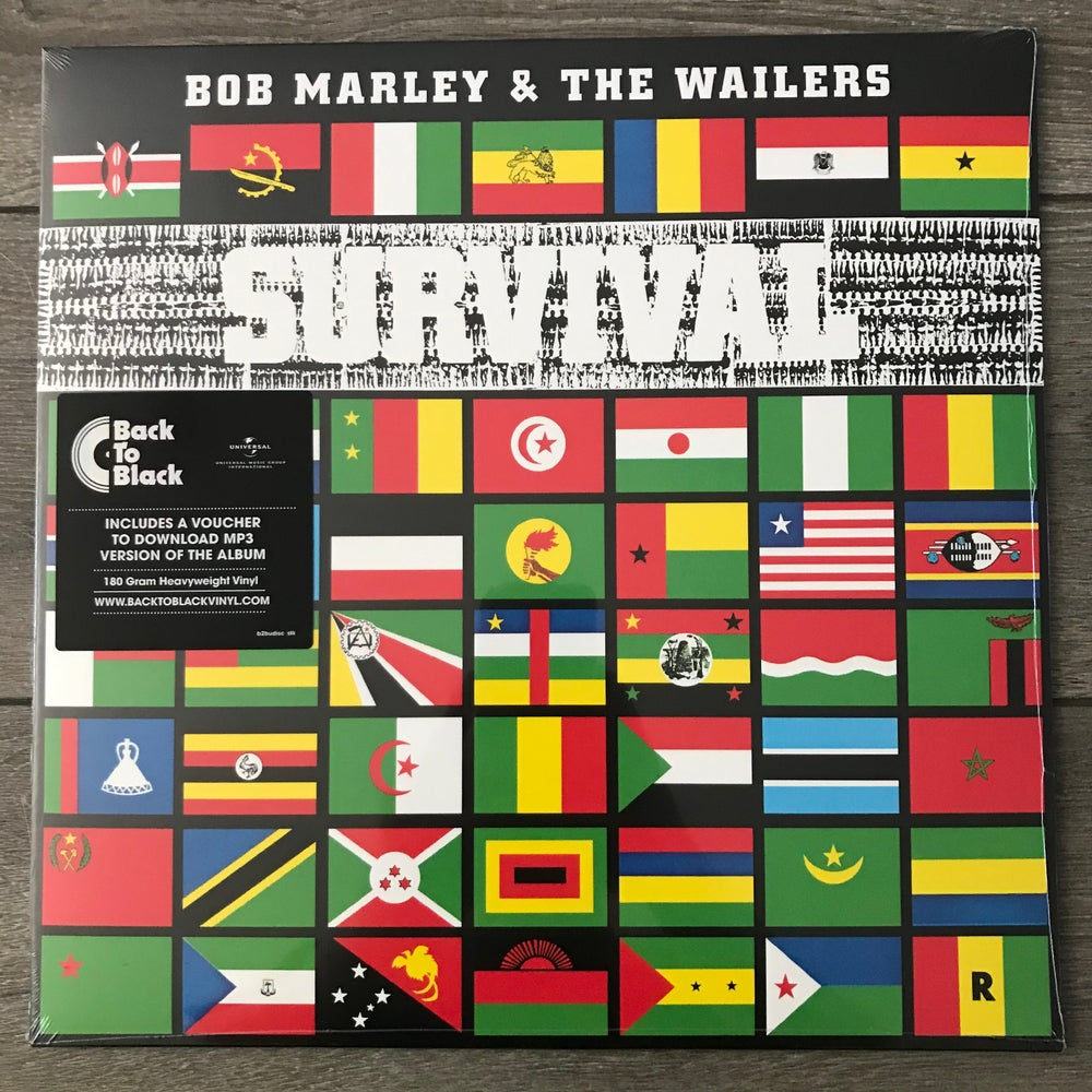 Image of Bob Marley And The Wailers - Survival Vinyl LP