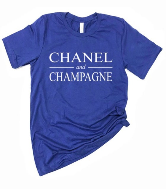 Image of Champagne (Blue)