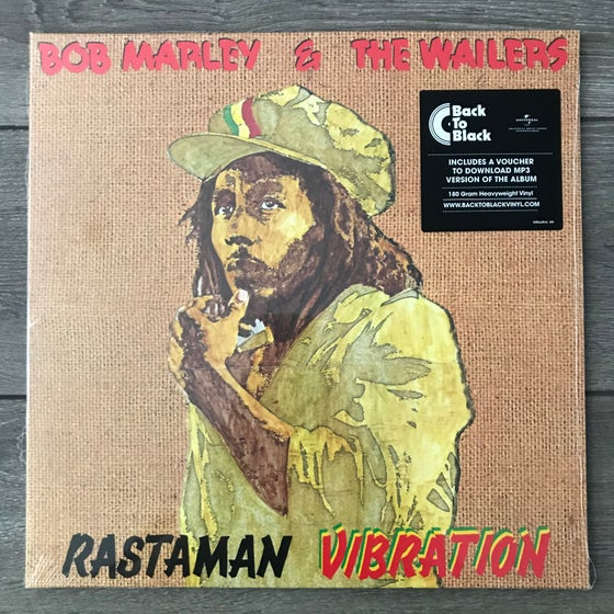 Image of Bob Marley And The Wailers - Rastaman Vibration Vinyl LP