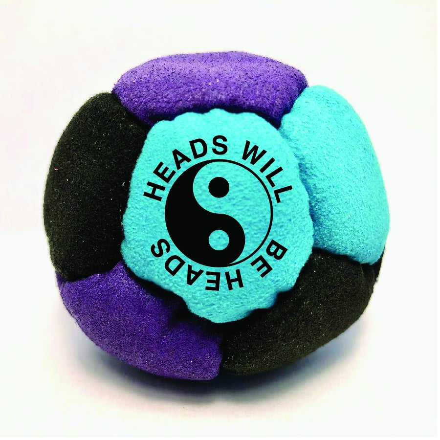 Image of HEADS WILL BE HEADS HACKY SACK