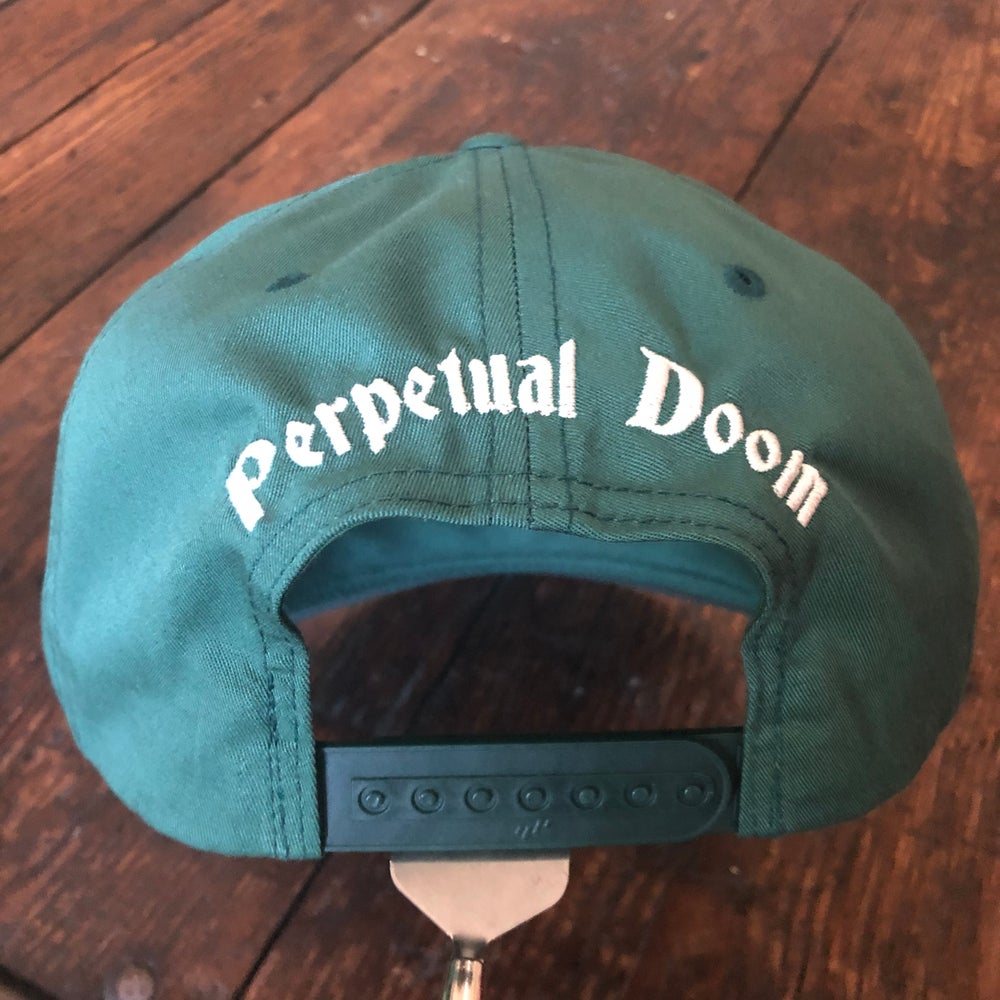 Doomer Hat w/ Adjustable Snap (Spruce Green)