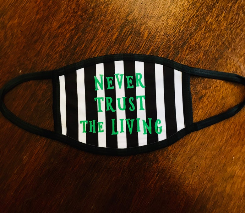 Image of Beetlejuice Face Mask
