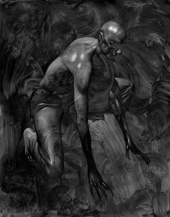 Image of Allen Williams 'Vampire' original art