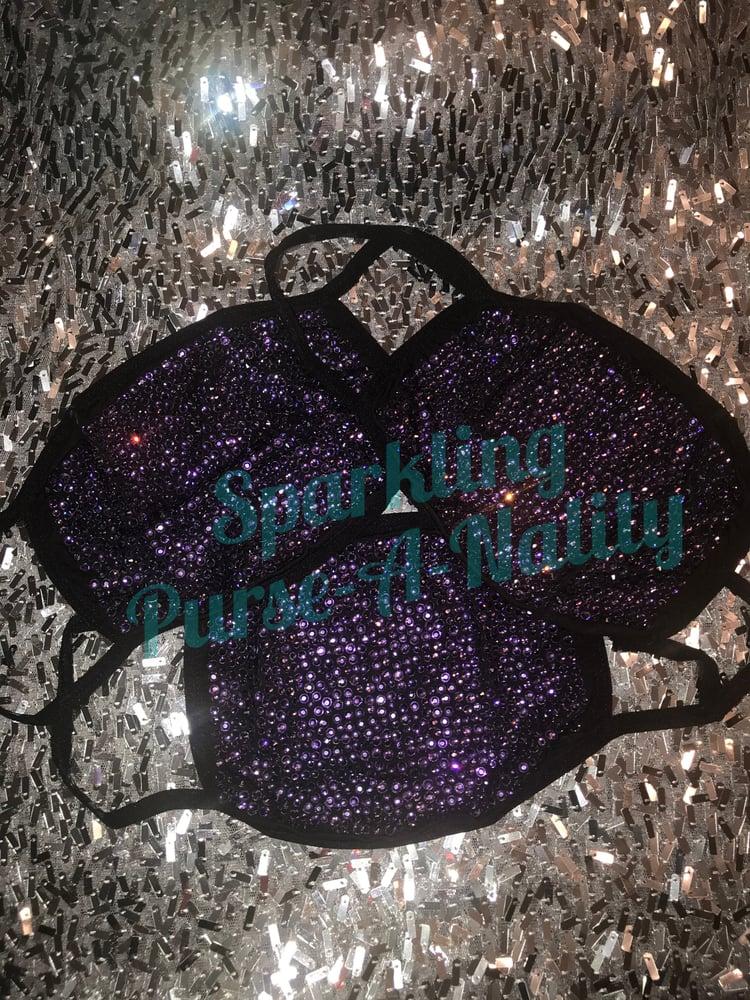 """Image of """"Sparkling """" Bling Mask"""