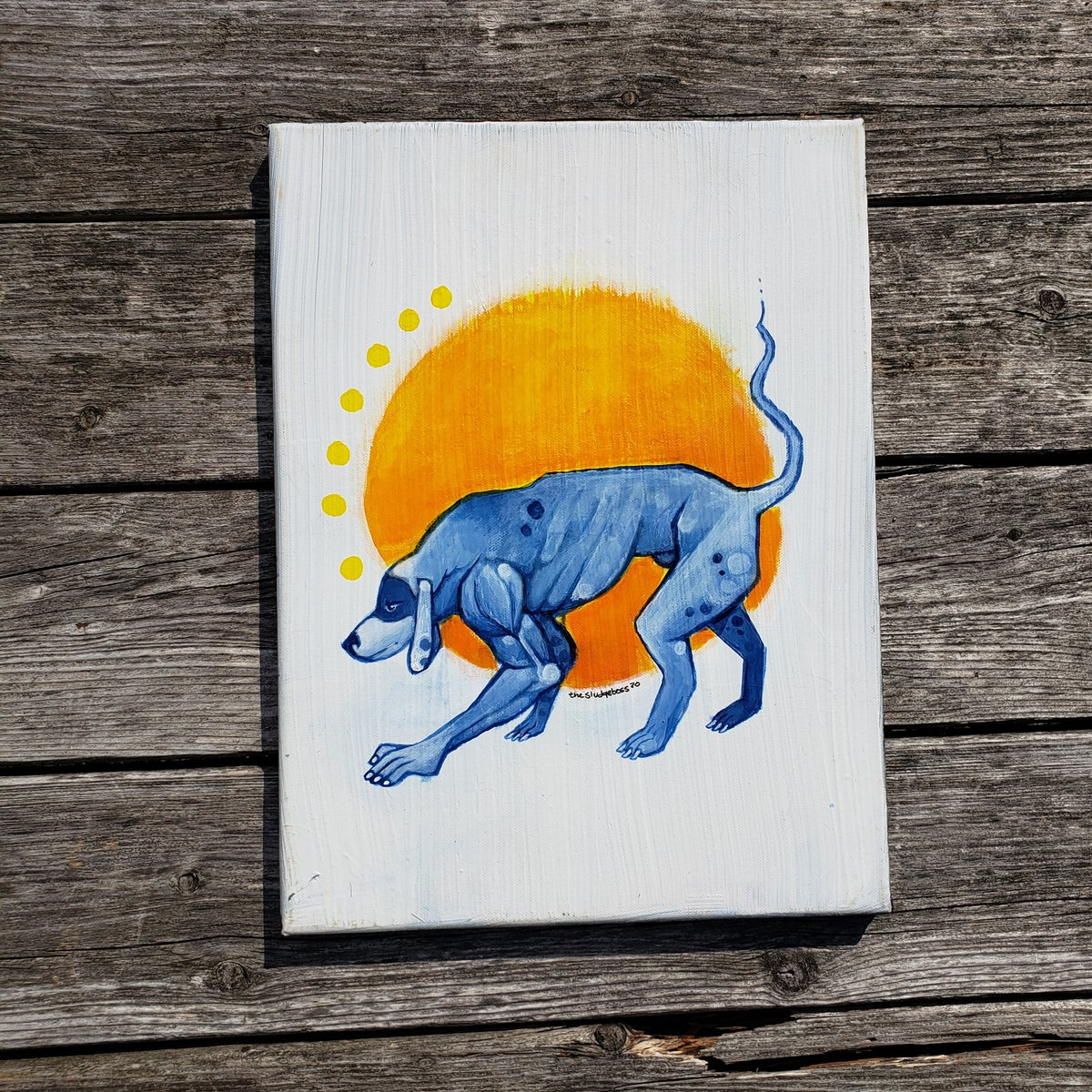 Image of Blue dog