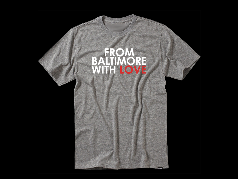 Image of From Baltimore With Love SS Grey