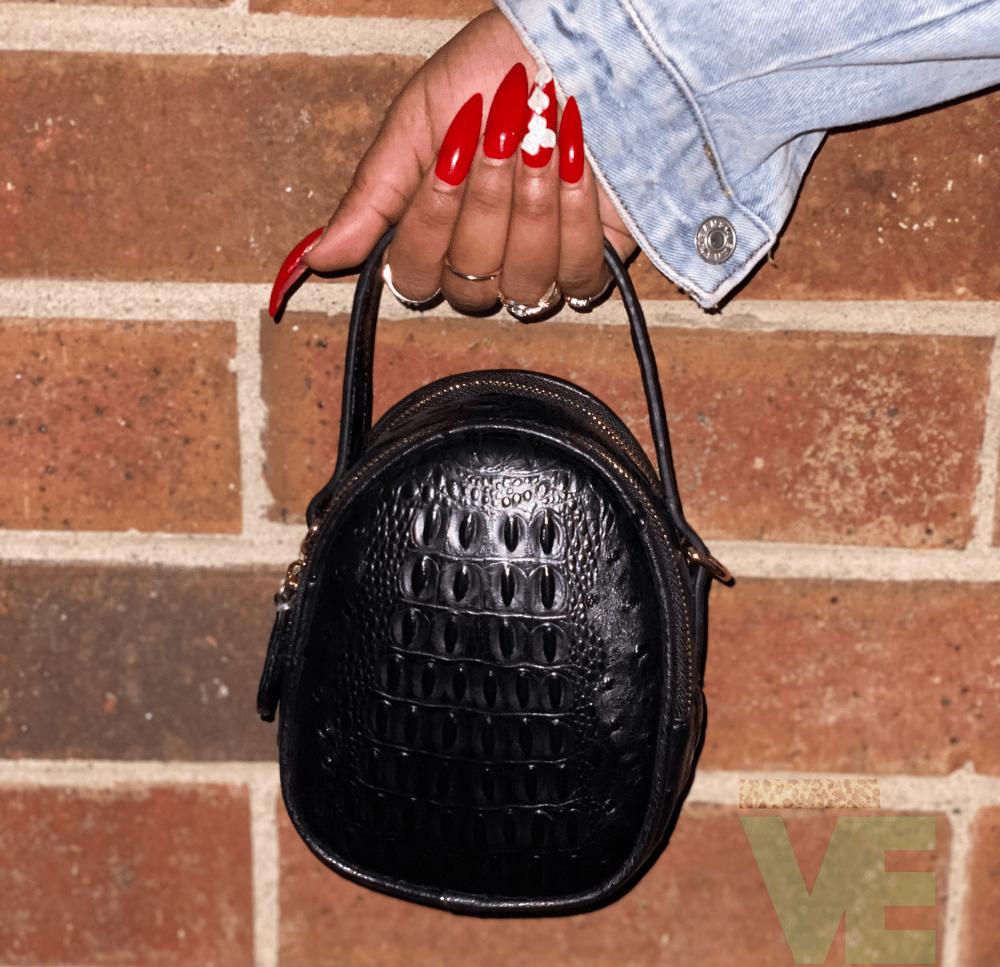 Croc Pattern Handbag
