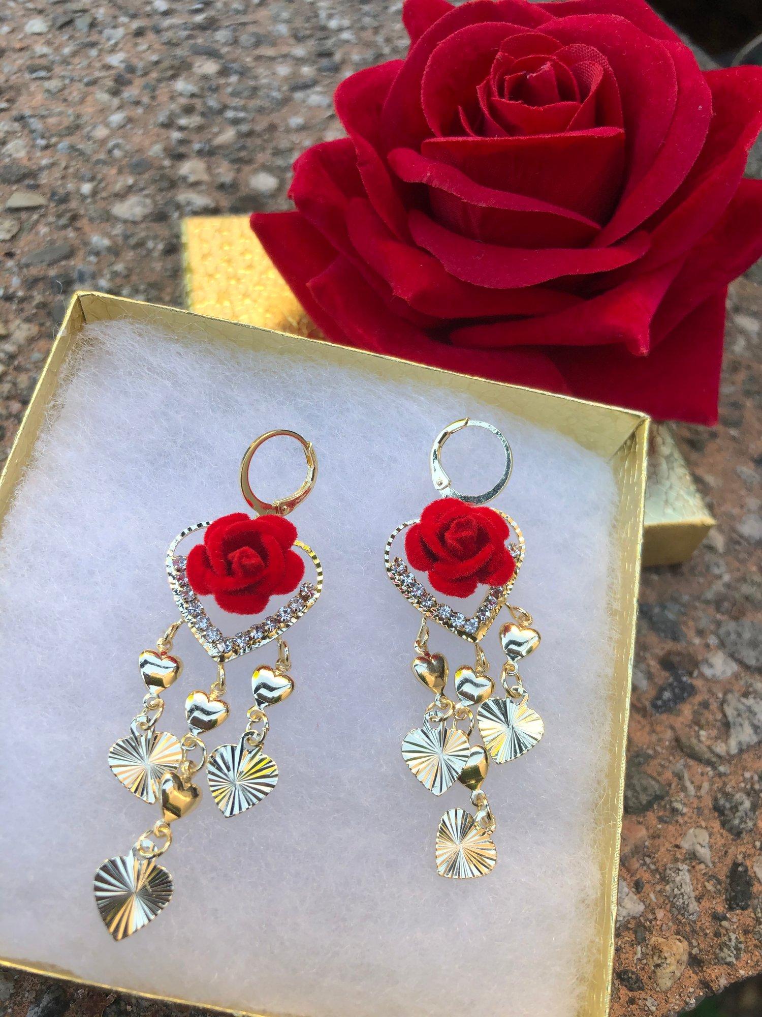 Red/Rositas Earrings