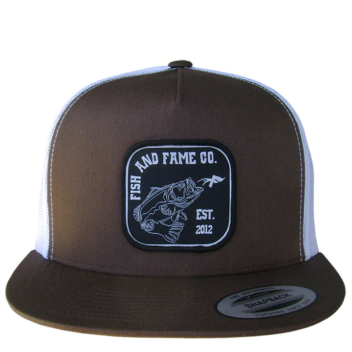Image of Bass & Co. Trucker (chocolate/white)