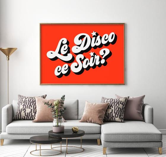 Image of LE DISCO CE SOIR?