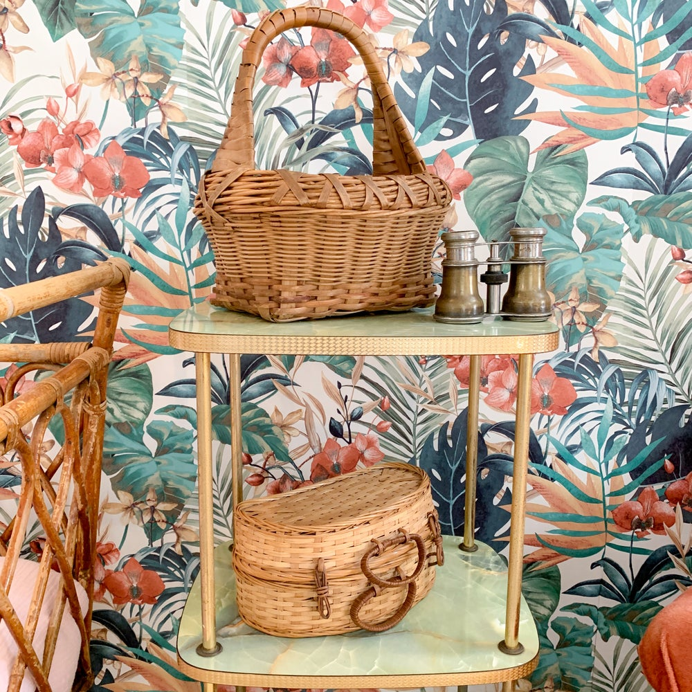 Image of Mini Mallette & Panier Tropic