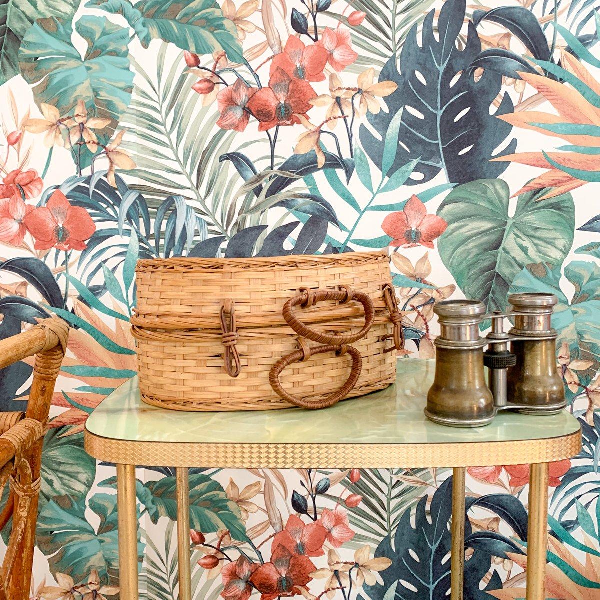 Image of Mini Mallette & Panier Tropic