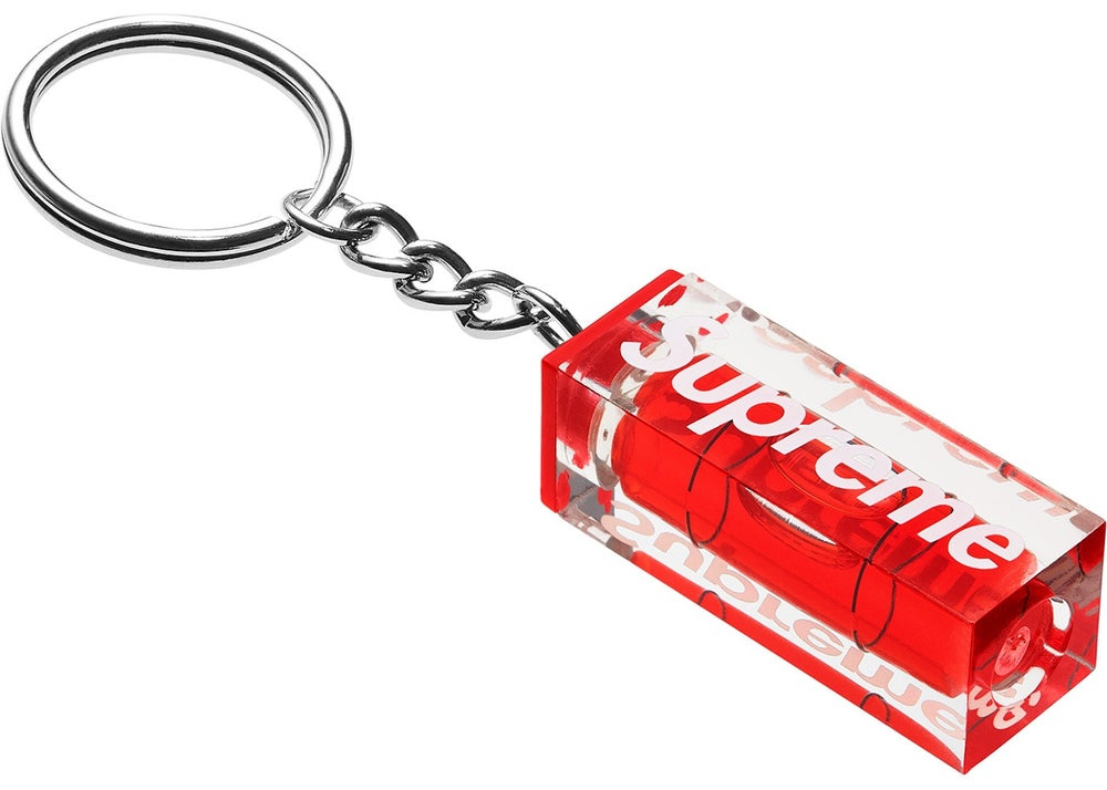 Image of Supreme Level Keychain Red