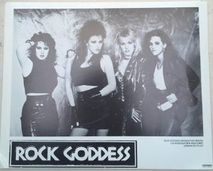 Image of Rock Goddess memorabilia 1987 publicity shot w/Julia and Becky