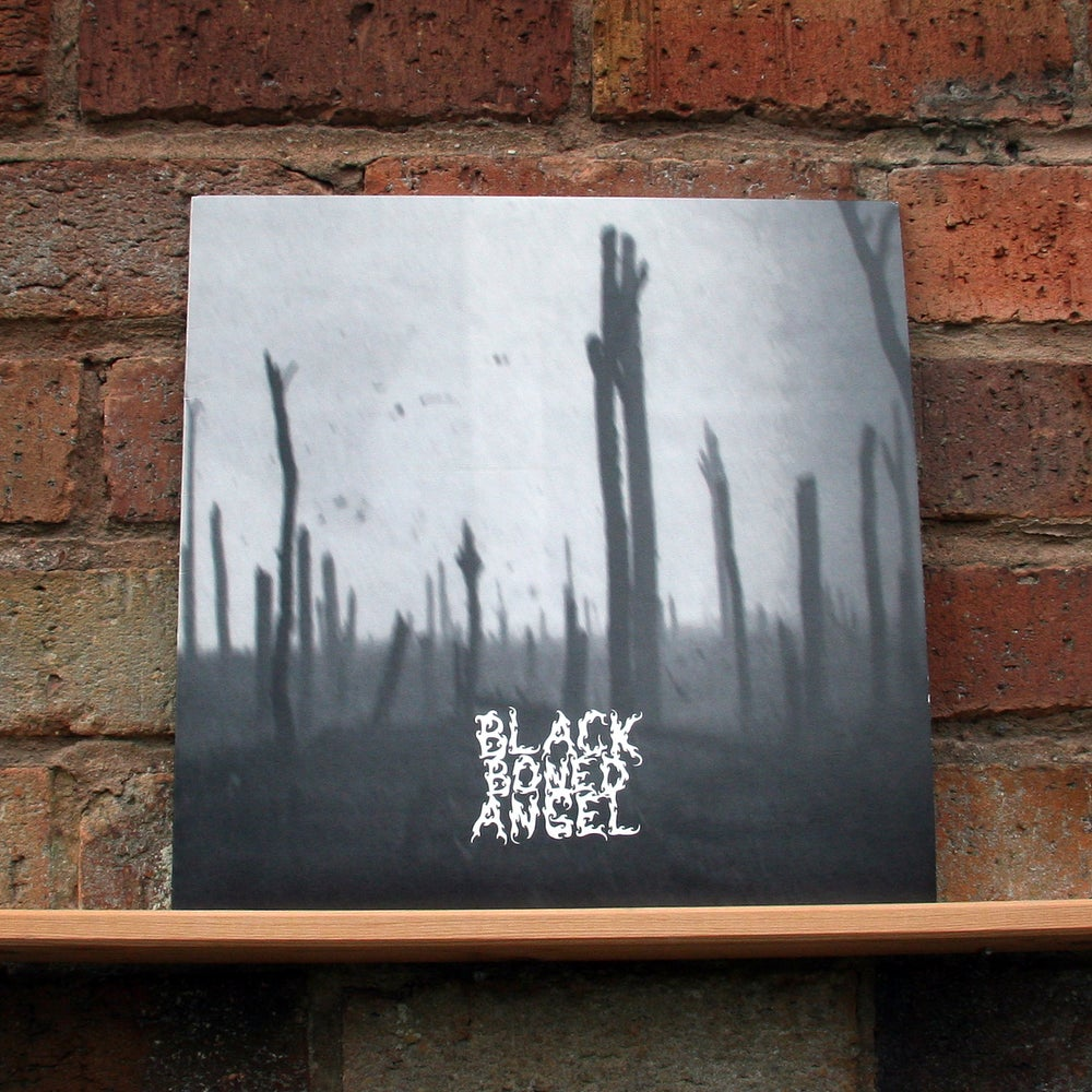 BLACK BONED ANGEL 'Verdun' Grey Vinyl LP
