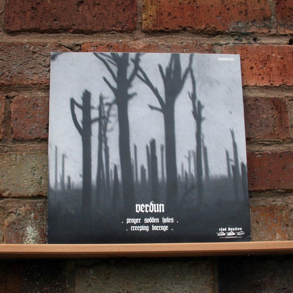 BLACK BONED ANGEL 'Verdun' Black Vinyl LP