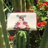 Flor Double Wristlet Wallet Off White