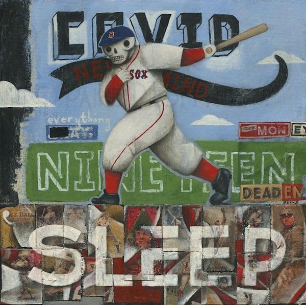 Image of Covid Sleep Baseball