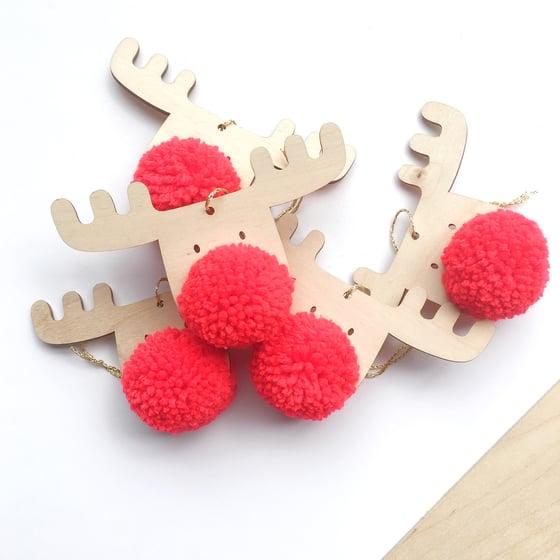 Image of FRANK - The PomPom Reindeer