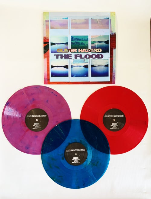 Image of The Flood (color vinyl record)
