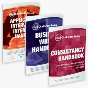 Image of City Career Series Three Handbook Bundle (Consulting)