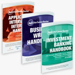 Image of City Career Series Three Handbook Bundle (Banking & Finance)