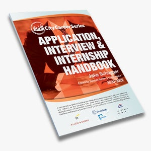 Image of Application, Interview & Internship Handbook