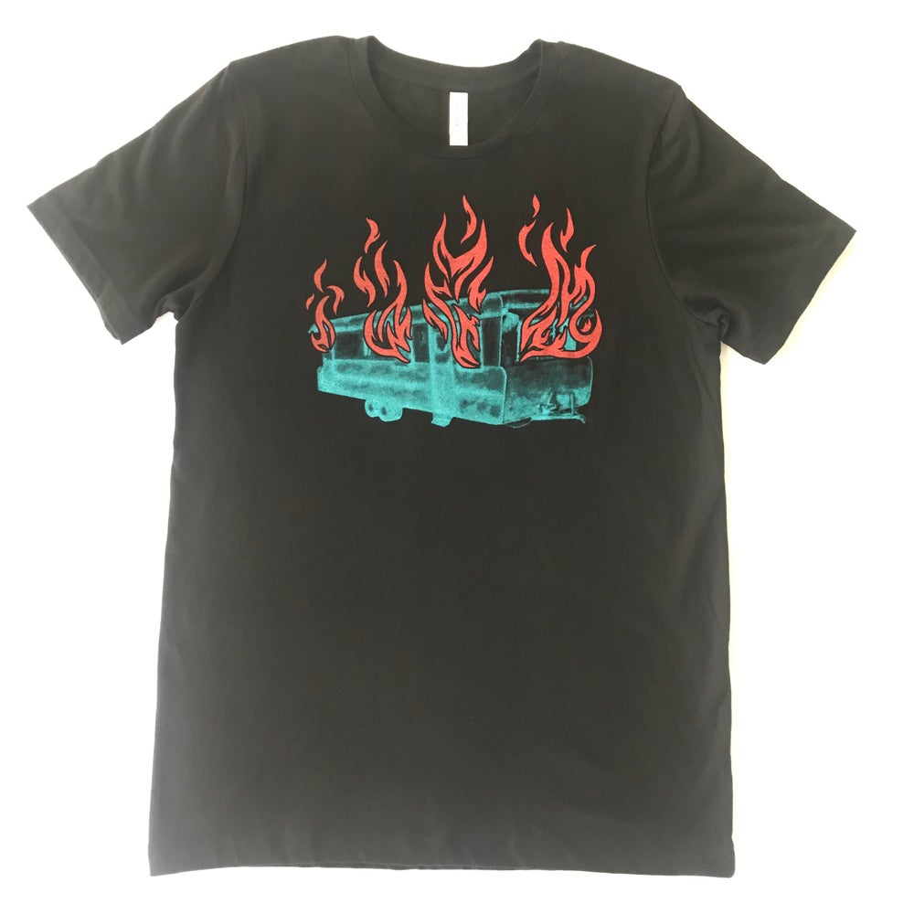 Image of Burn, You Fucker, Burn! Tee