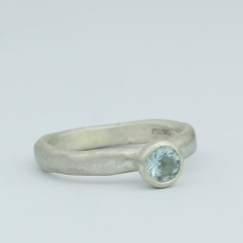 Image of aquamarine ring