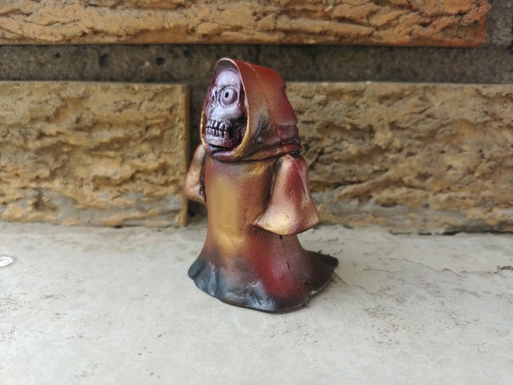 Image of Solid Rubber mini reaper airbrush practice