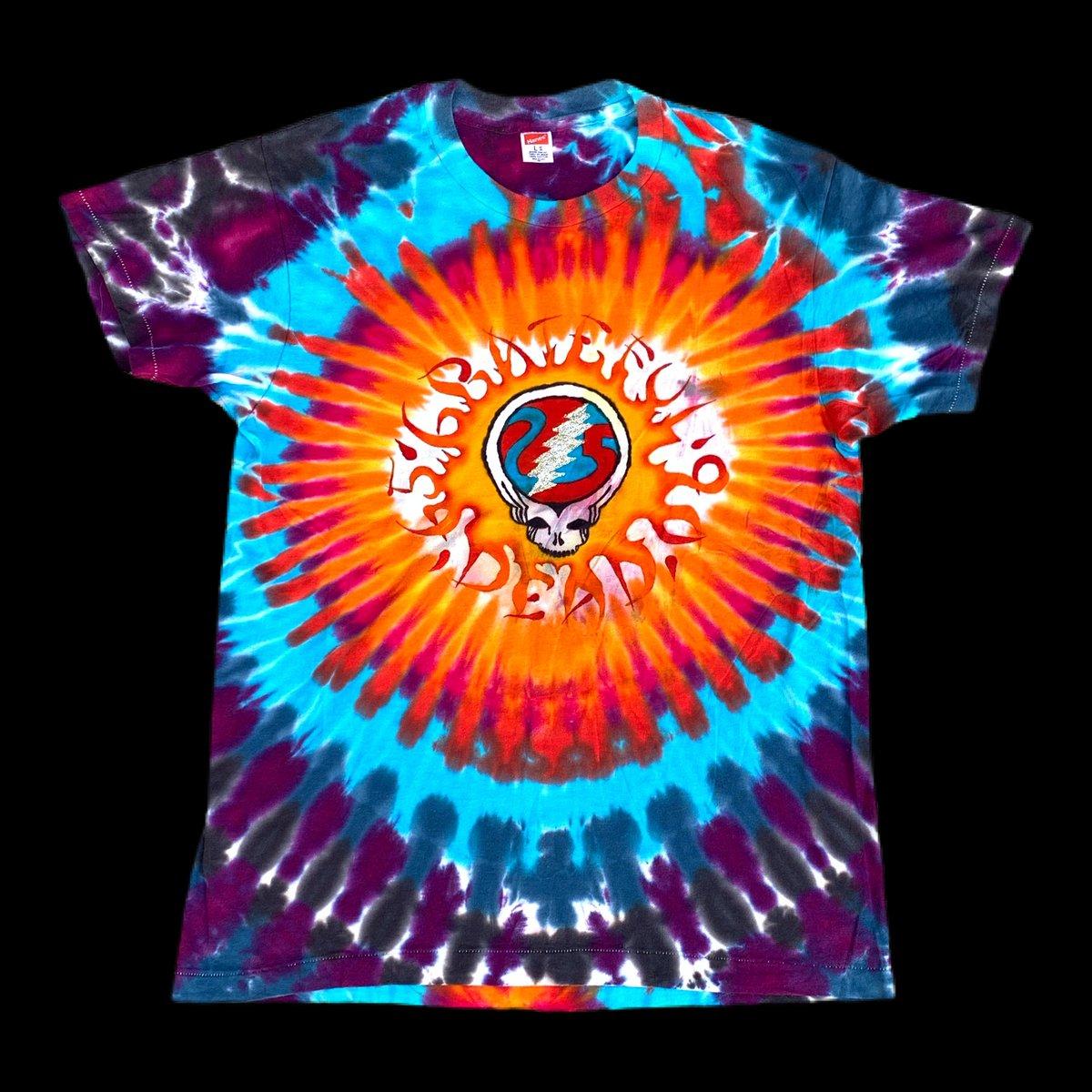 Original Vintage Grateful Dead Late 80's / Early 90's Lot Dye - Large