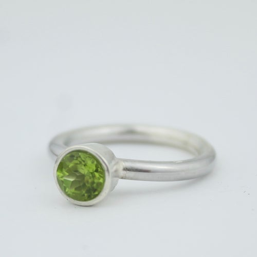 Image of Peridot ring