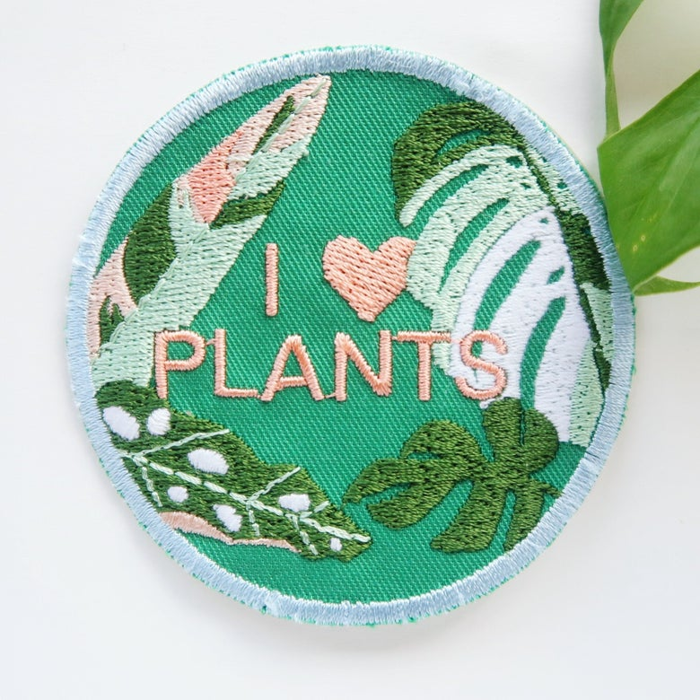 Image of I love plants