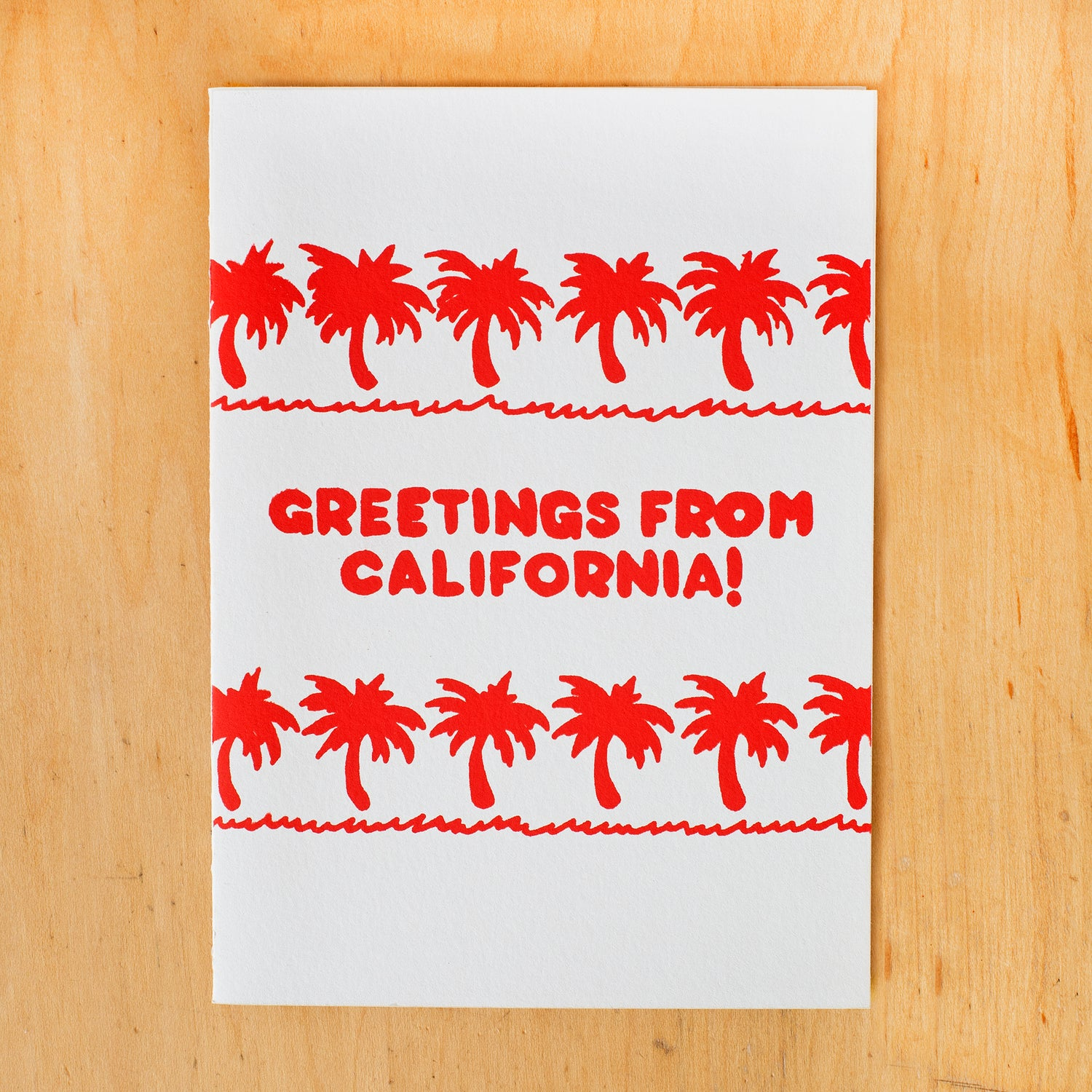 Image of Greetings From CA Palms