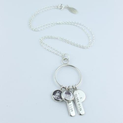 Image of bespoke family necklace