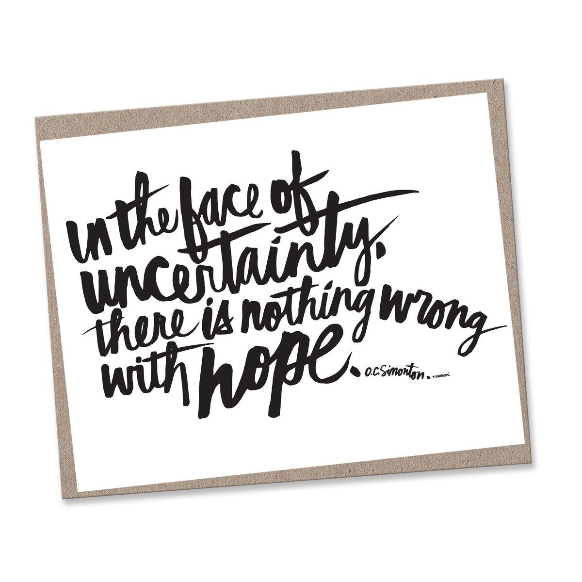 Image of HOPE #kbscript print