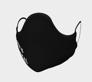 Image of Goth is Political Face Mask