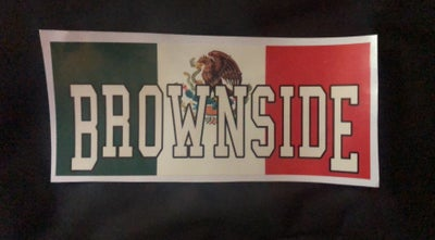 Image of BROWNSIDE MEDIUM STICKERS