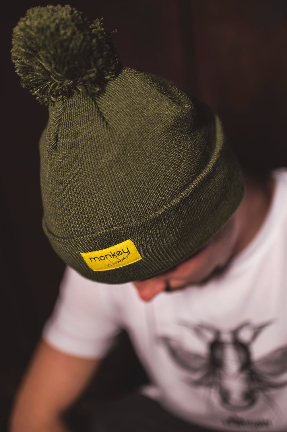 Image of Monkey Climber Heavy PomPom beanie I Various colours