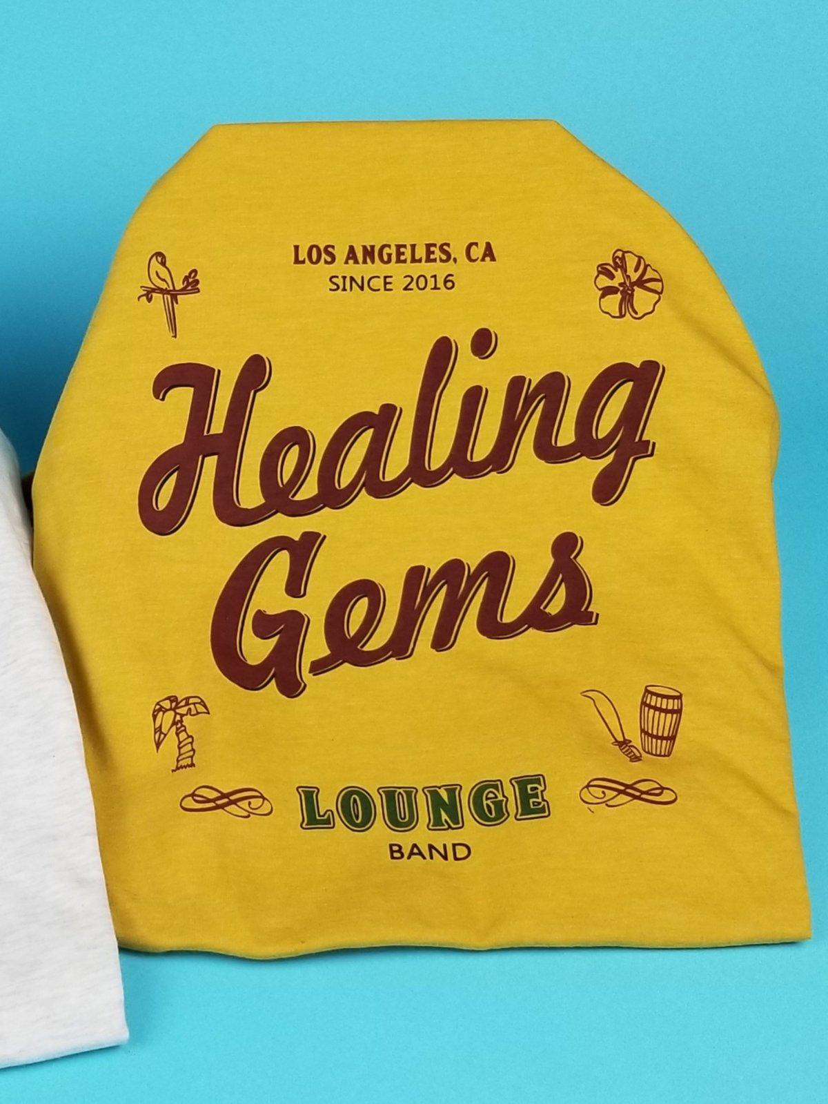 Image of Healing Gems Shirt Gold